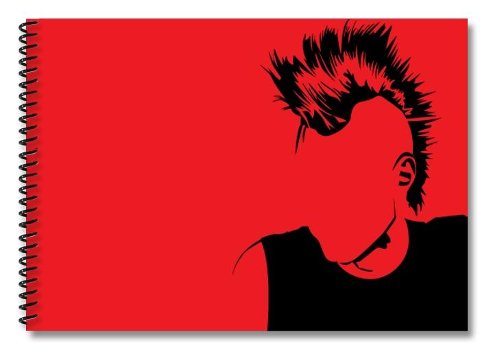 punk-red-black