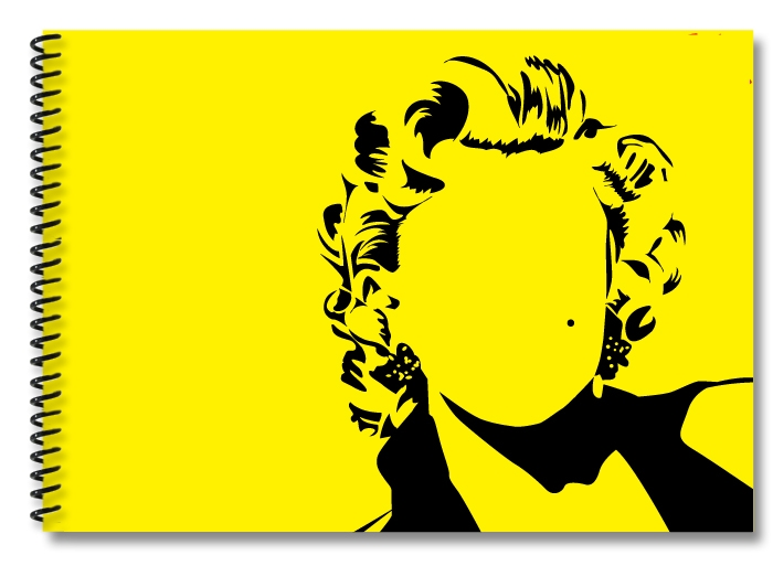 Marilyn-yellow-black