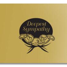deepest-sympathy-gold-black