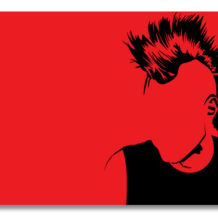 punk-red-black